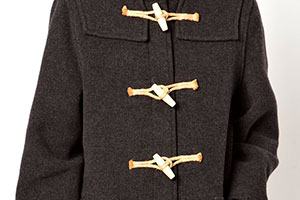 Fastenings of the duffle coat