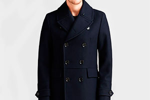 Pea coat — silhouette in detail