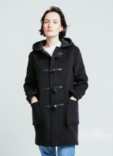 London Tradition Angela Womens Duffle coat Navy