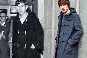 The modern duffle coat — differences from its predecessor