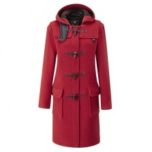Duffle Coat Gloverall 3120 Red