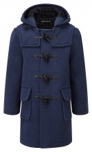 Children Classic Duffle Coat Royal Blue 7-9 years