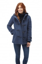 Original Montgomery Short Leyton Duffle Coat Royal Blue