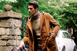 Duffle coat is a new English classic