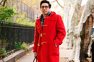 What kind of style suits the duffle coat