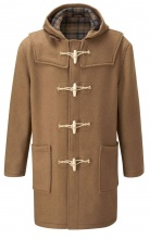 Original Montgomery Duffle Coat Wooden Toggle Camel
