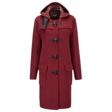 Duffle coat Gloverall 3120 Cranberry
