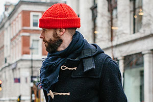 The Duffle coat and men's hats — what to choose?