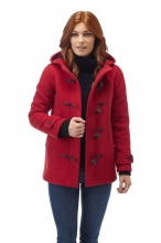 Original Montgomery Short Leyton Duffle Coat Red