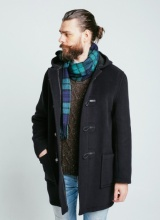 Duffle coat London Tradition Joseph Navy