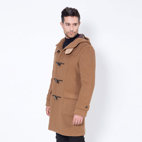 Os duffle coats masculinos clássicos
