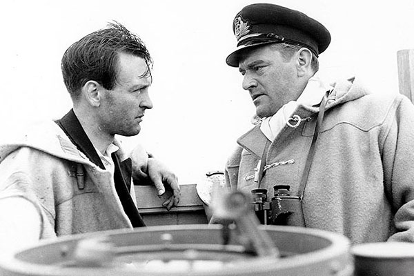 Duffle coats in film The cruel sea